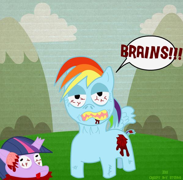 MLP: Friendship is Zombie
