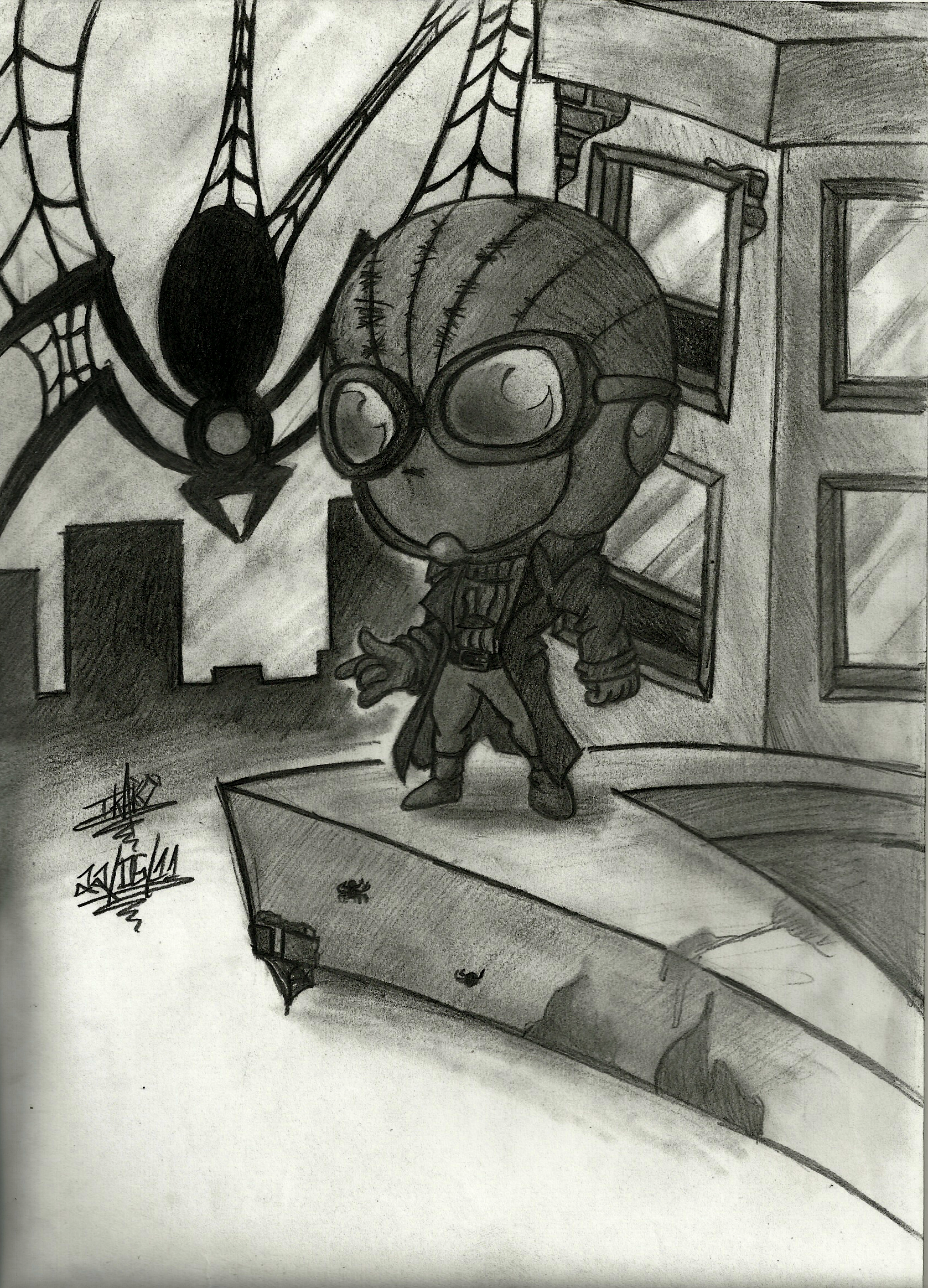 Spidey Noir