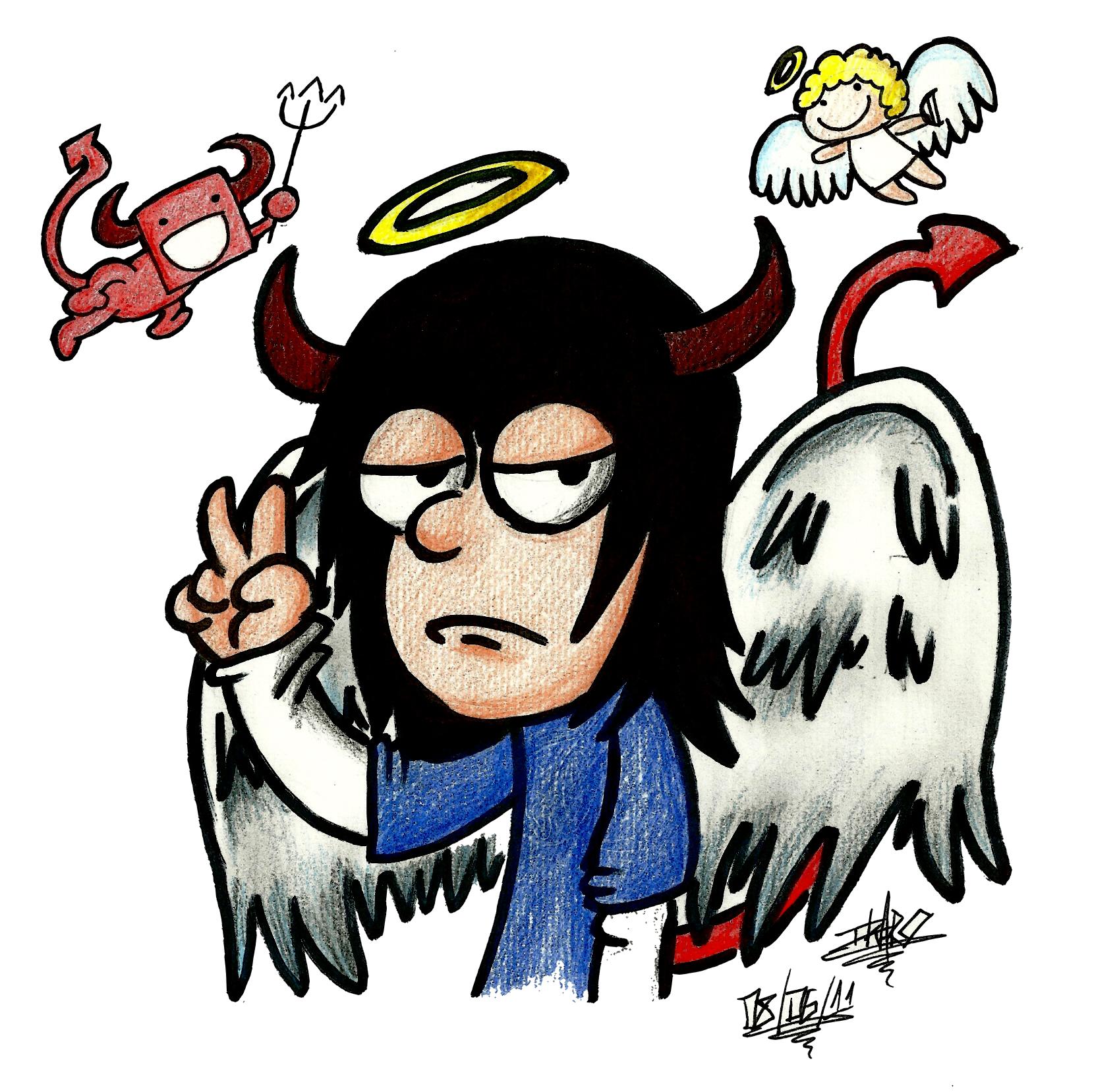 Angel Devil Guy