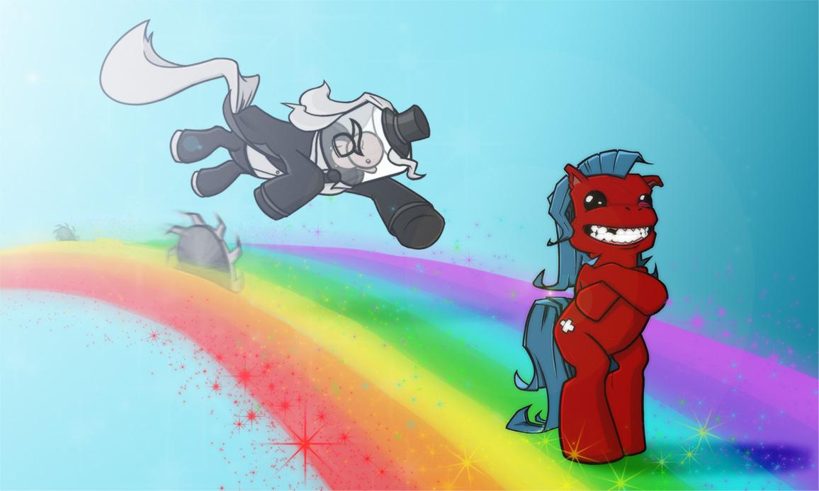 Meat Pony and Fetus Pony