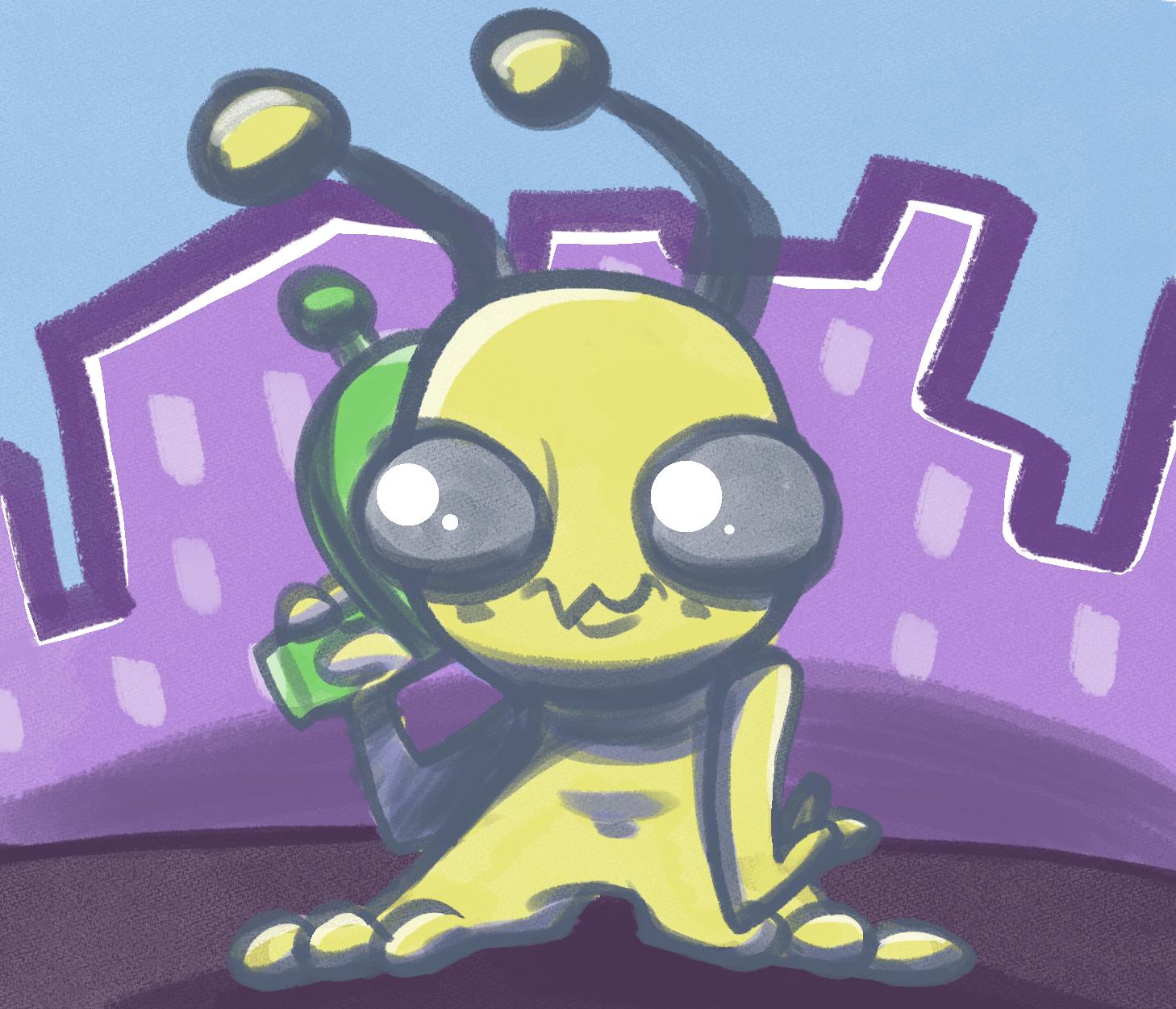 Alien Hominid again