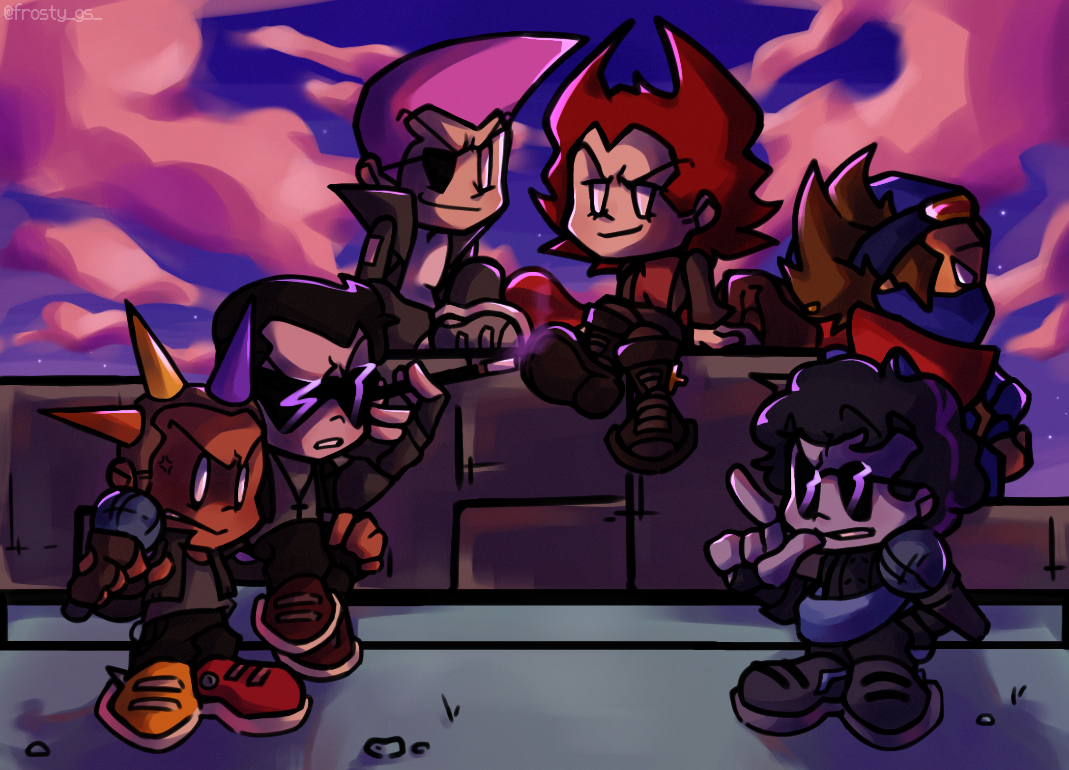 funky goth-punks