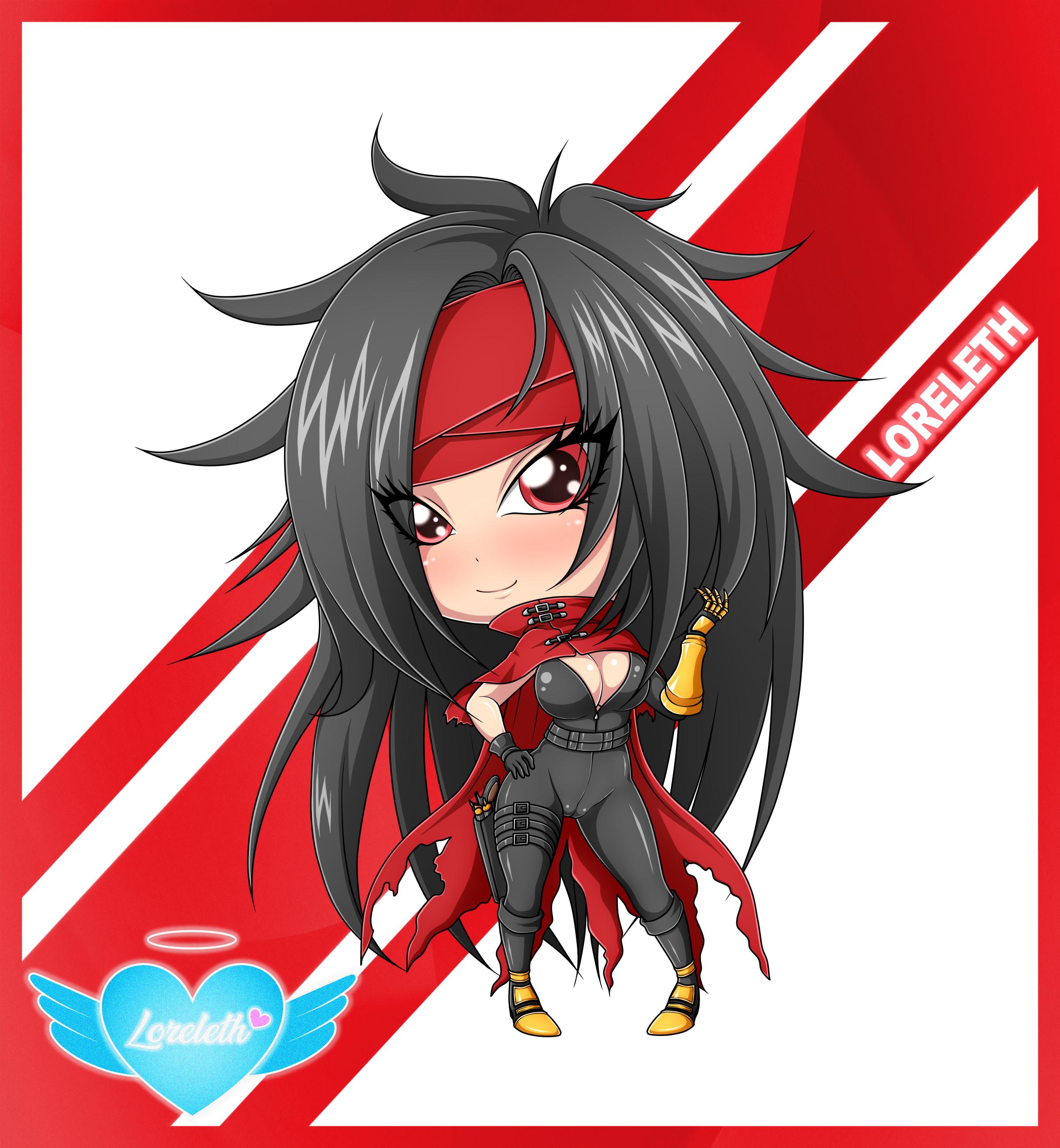 Cute Chibi Girl 43 (Commission)