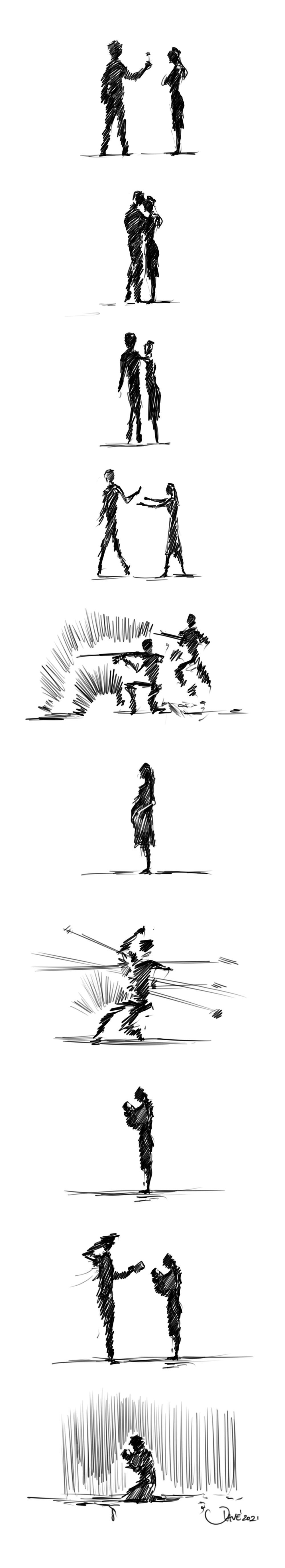 A sketchy Story