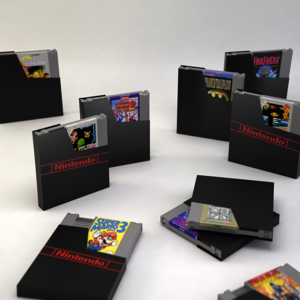 3D NES Games
