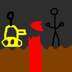 NG vs. Volcano Beast