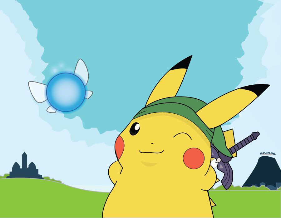 Legend of Pikachu good buddies