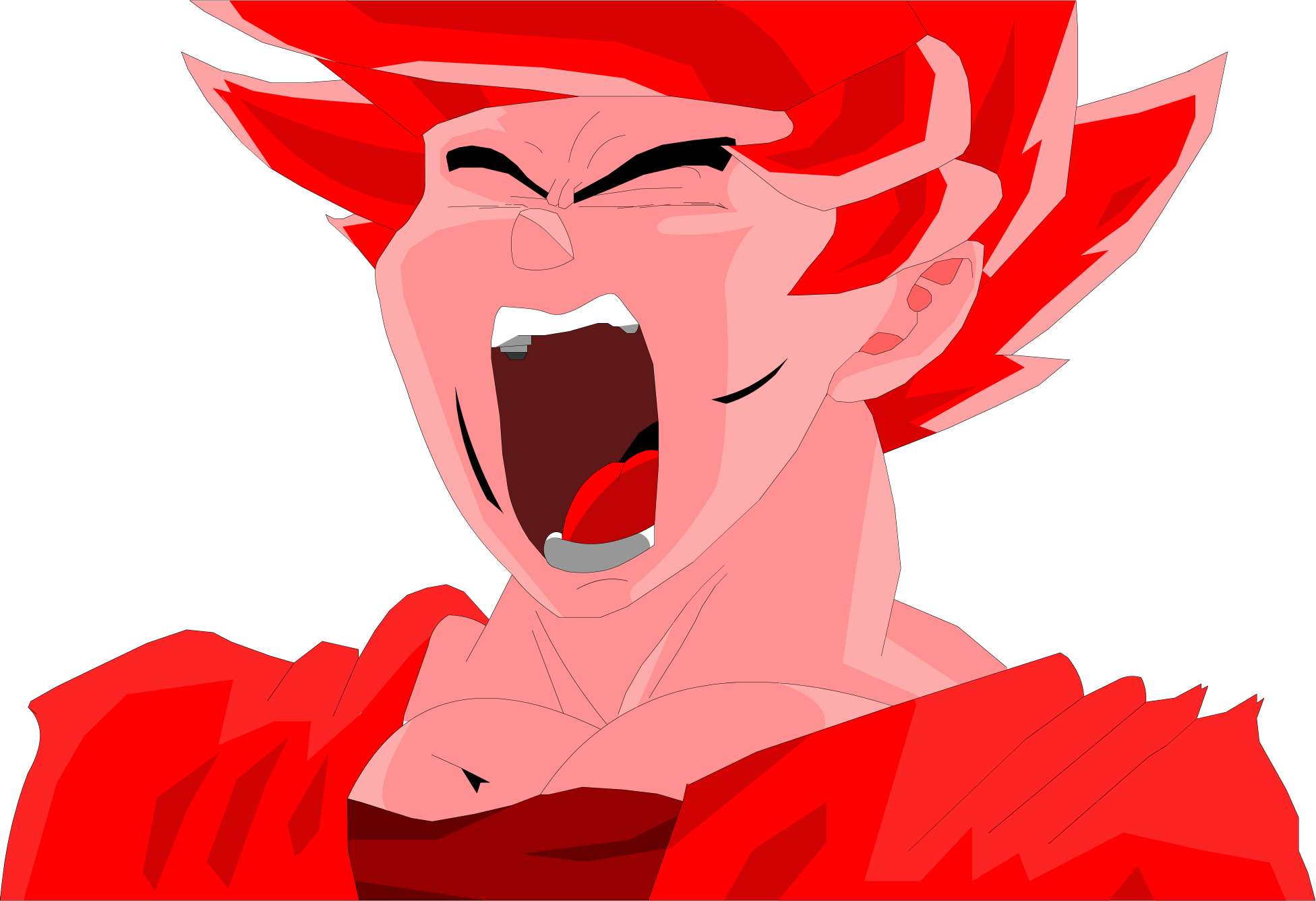 Goku Super kaioken