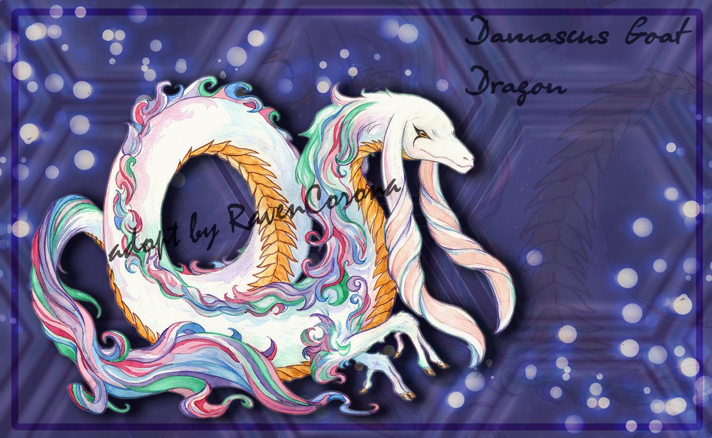 [CLOSED] Damascus Goat Dragon ~ Adopt Auction