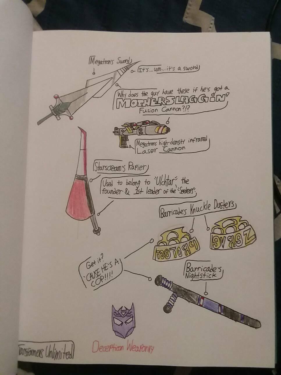 Transformers Unlimited: Decepticon Weaponry