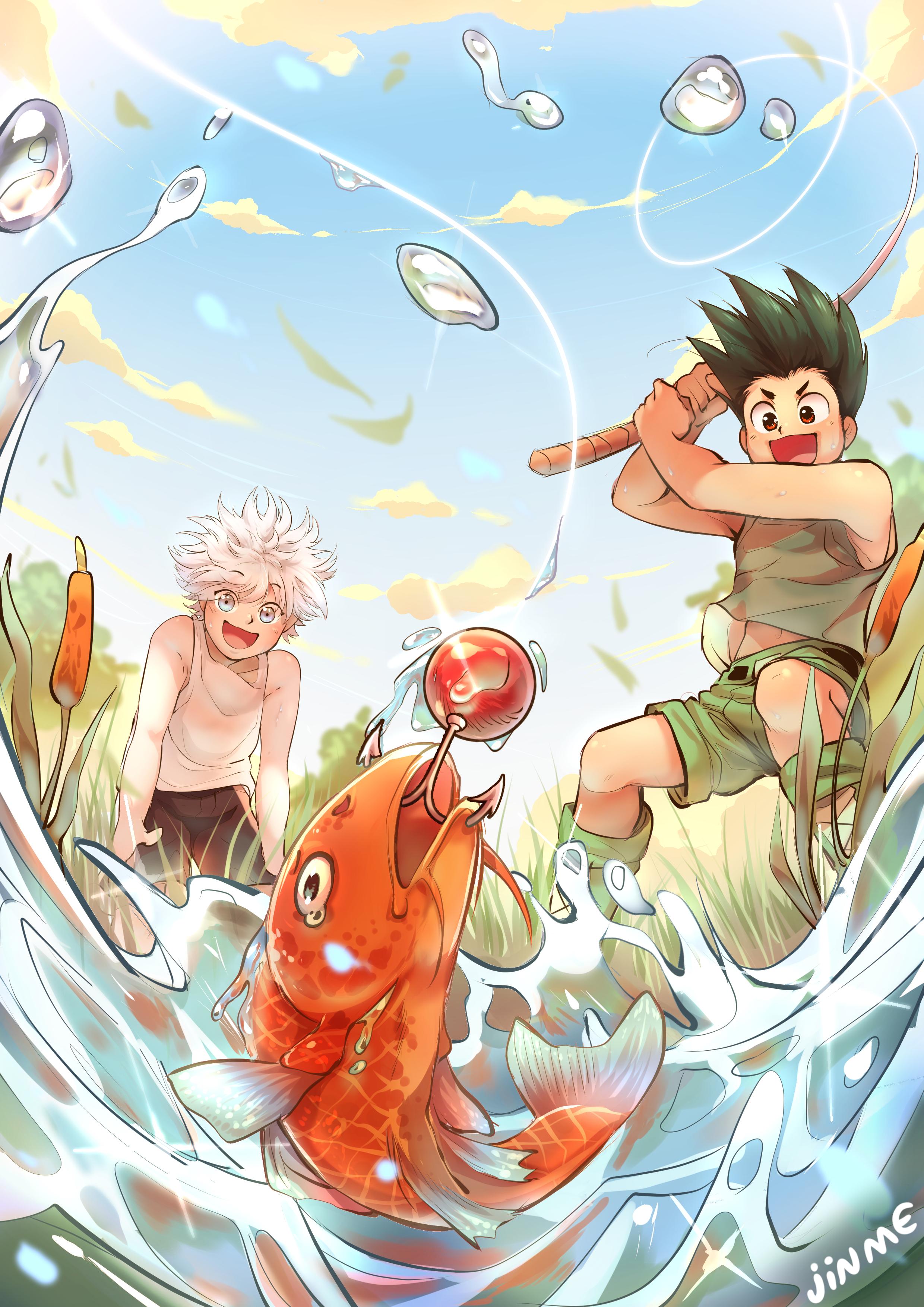 Fishing! (HxH)