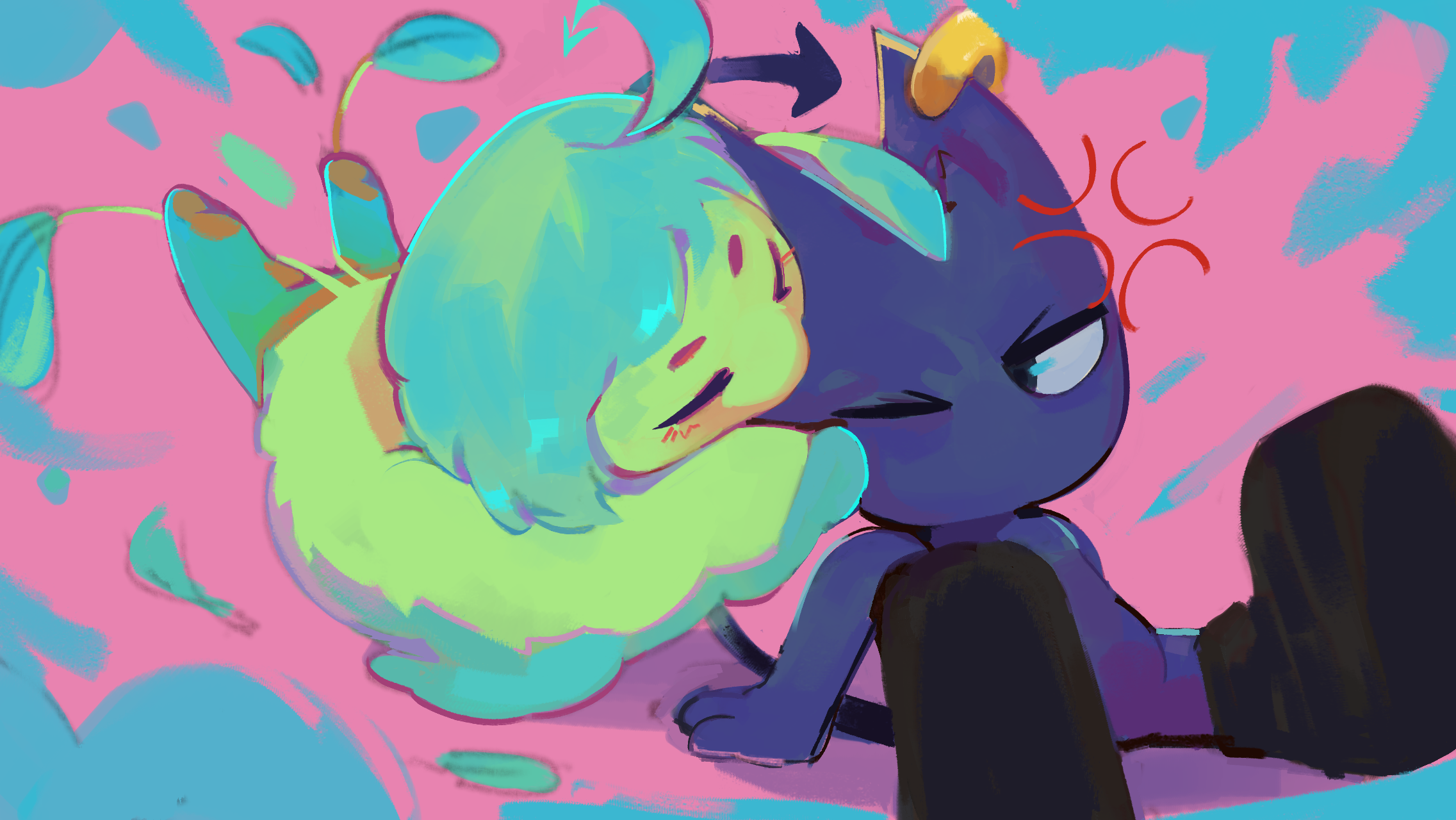 Trick and Iris