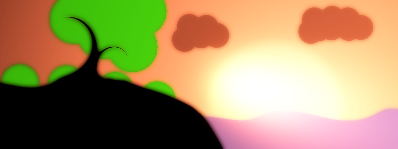 Seaside Sunrise (Colored)