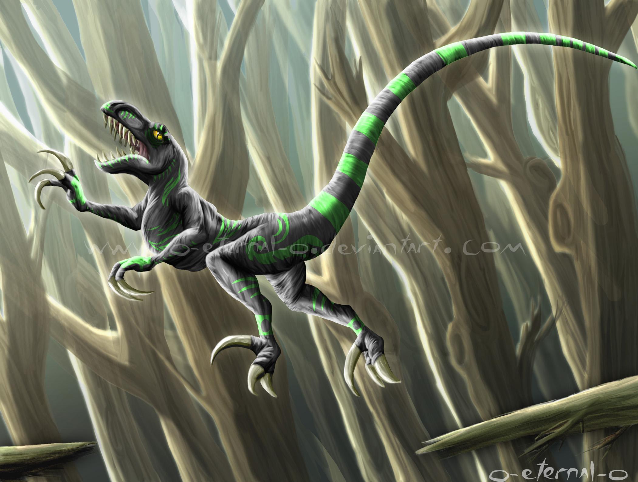 Raptor Forest Guardian
