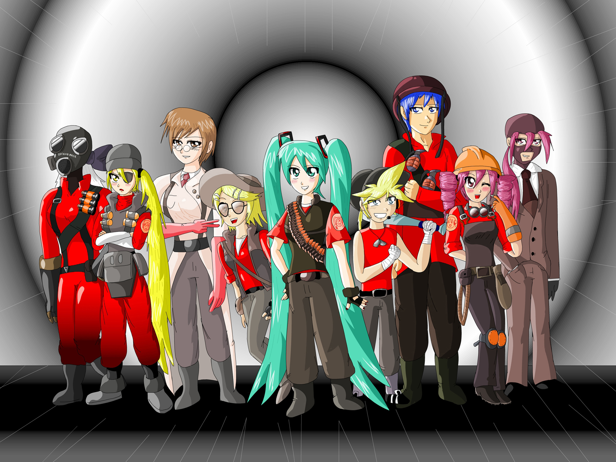 Vocaloid Fortress 2