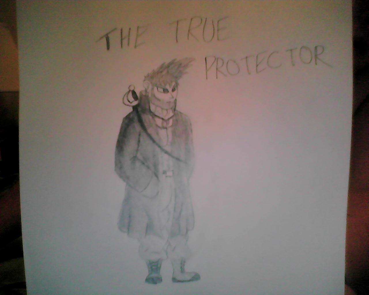 Drawn character