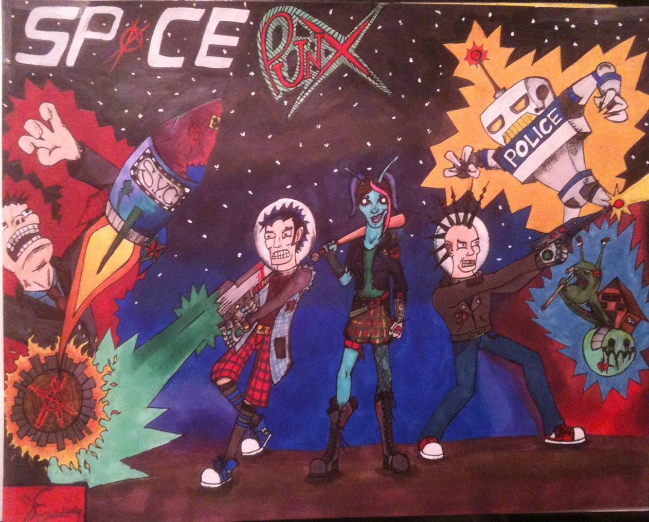 SPACE PUNX