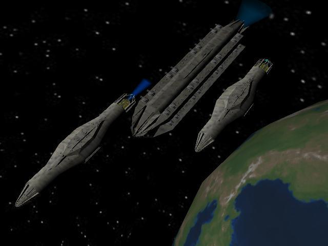 Fleet Orbiting Planet