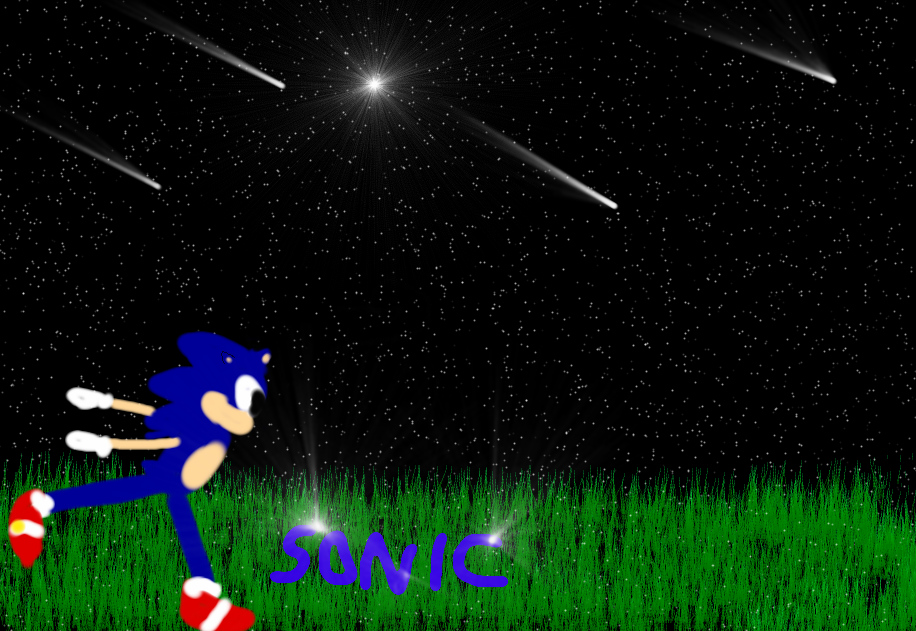 Sonic Running With The Stars!