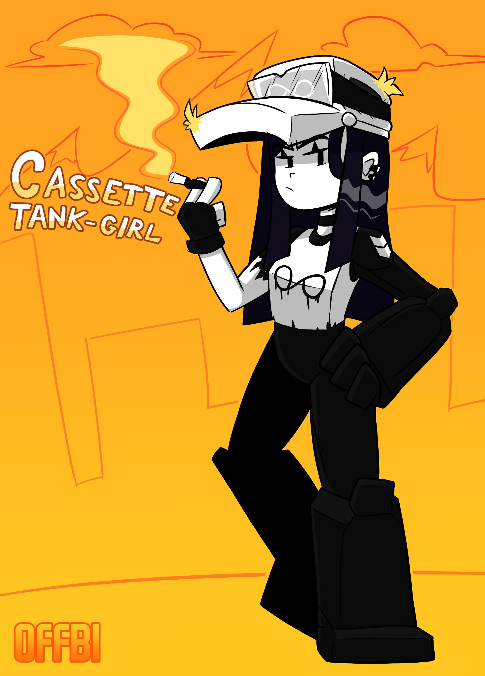 Cassette tank girl