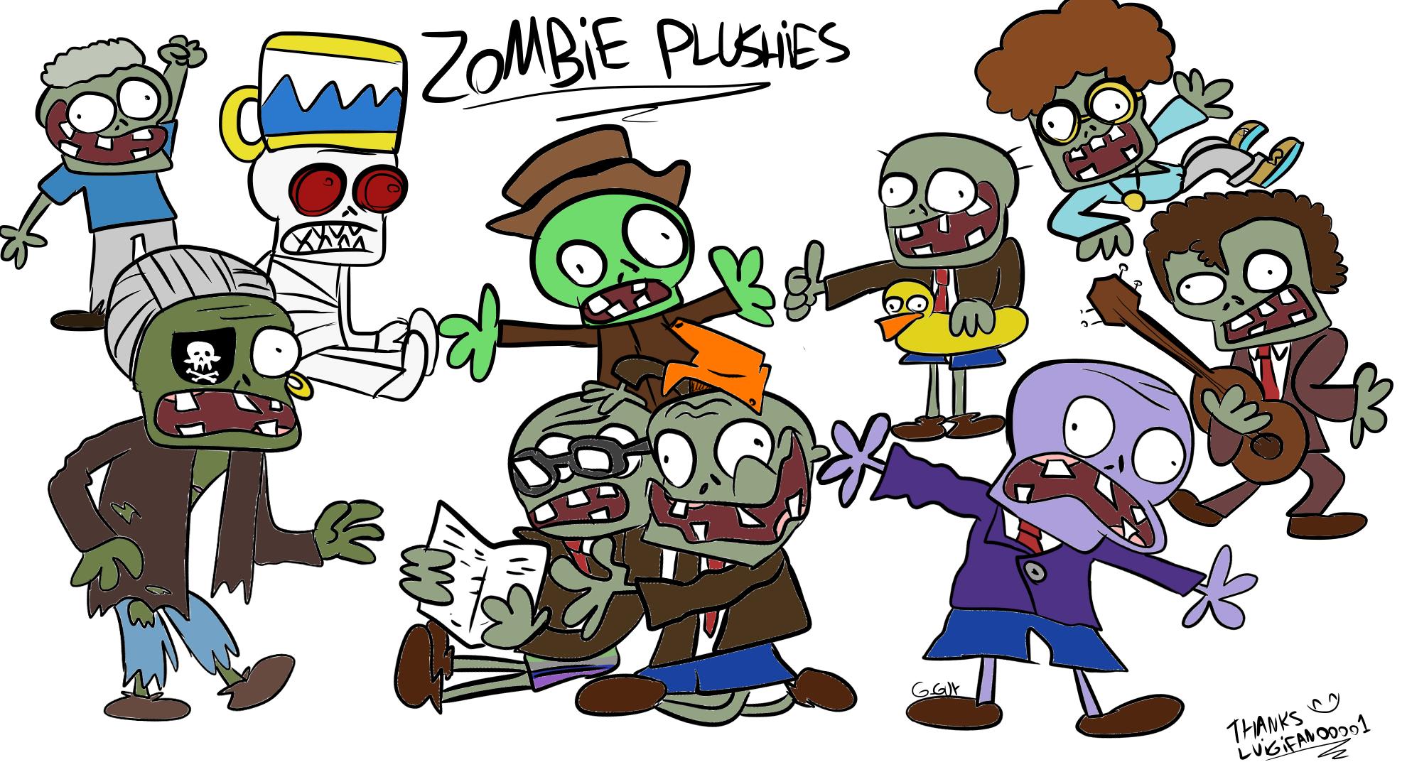 Zombie Plushies