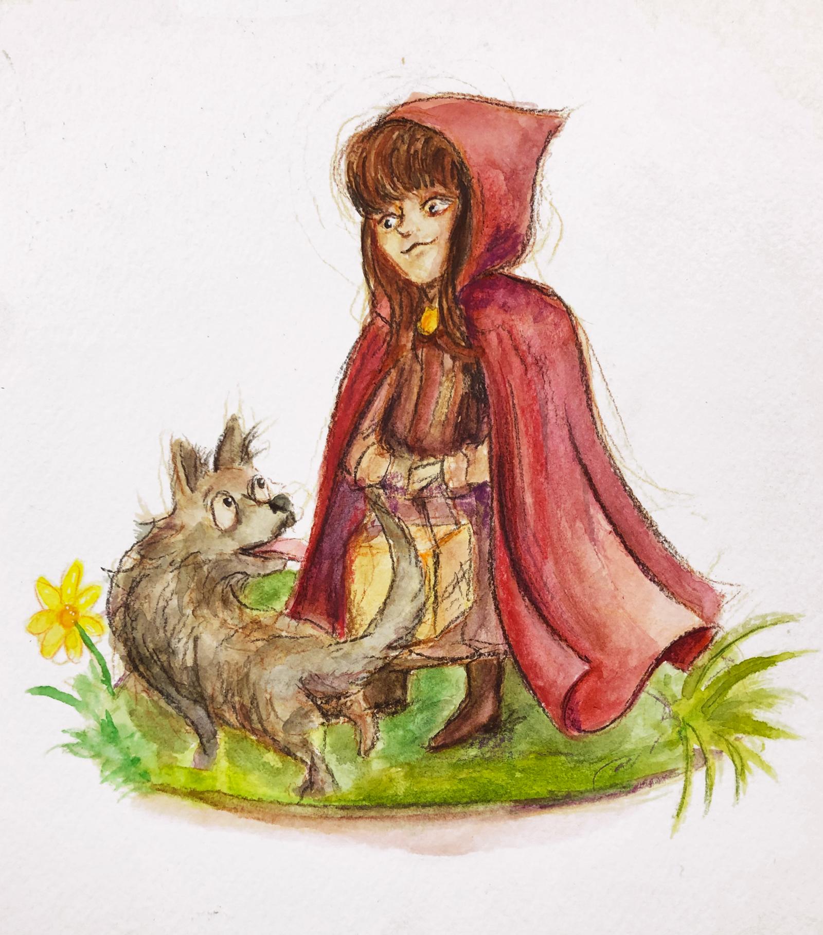 Little Red Little Wolf