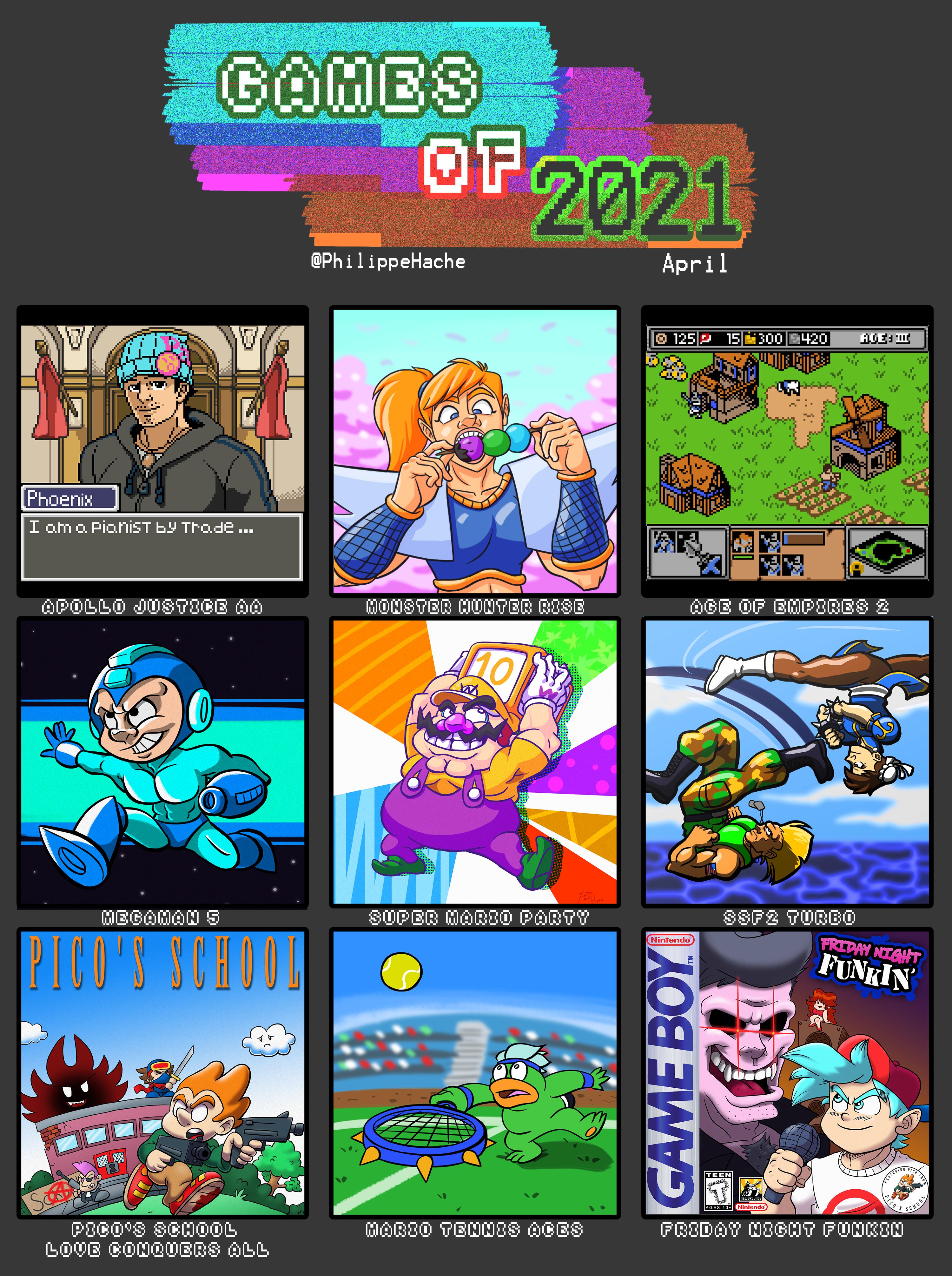 Games of 2021 #04 April