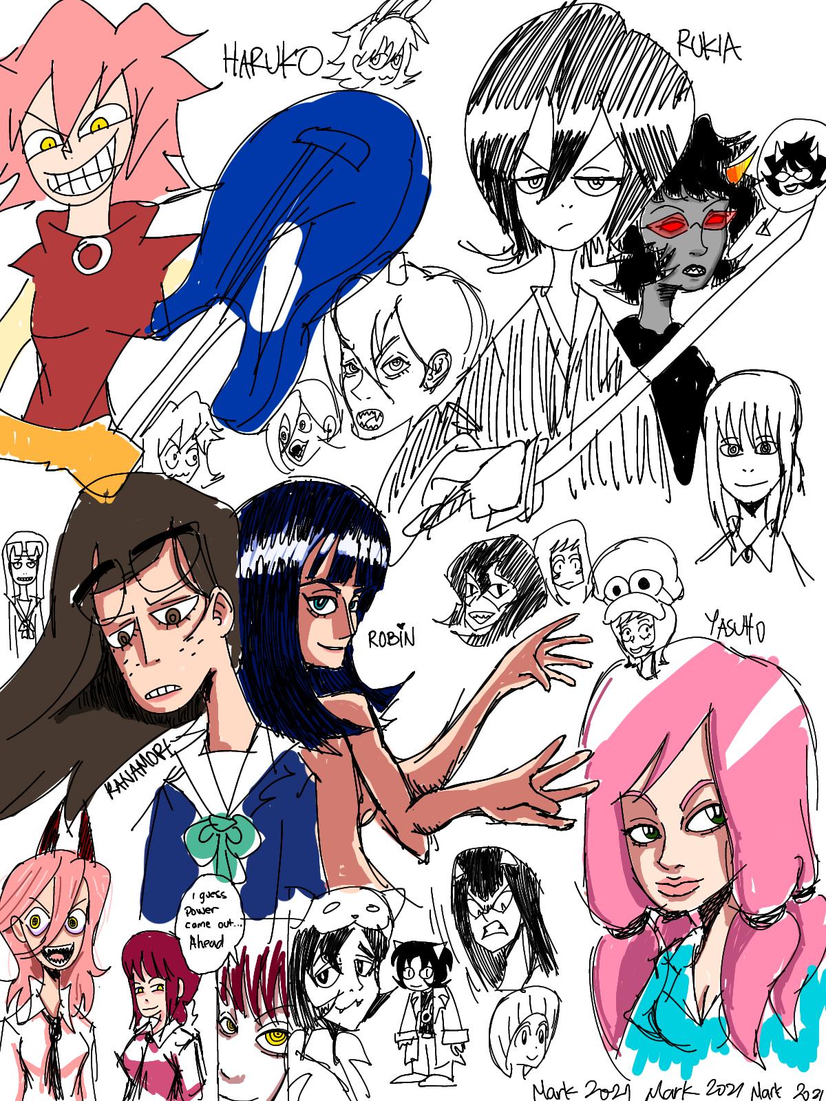 Babe doodles