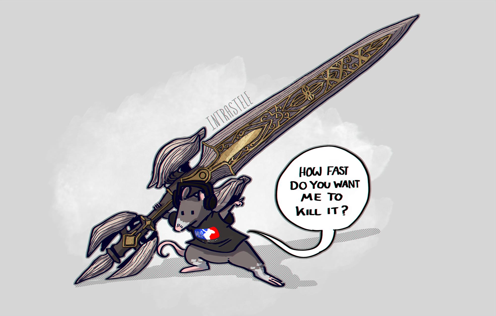 Gamer Rat