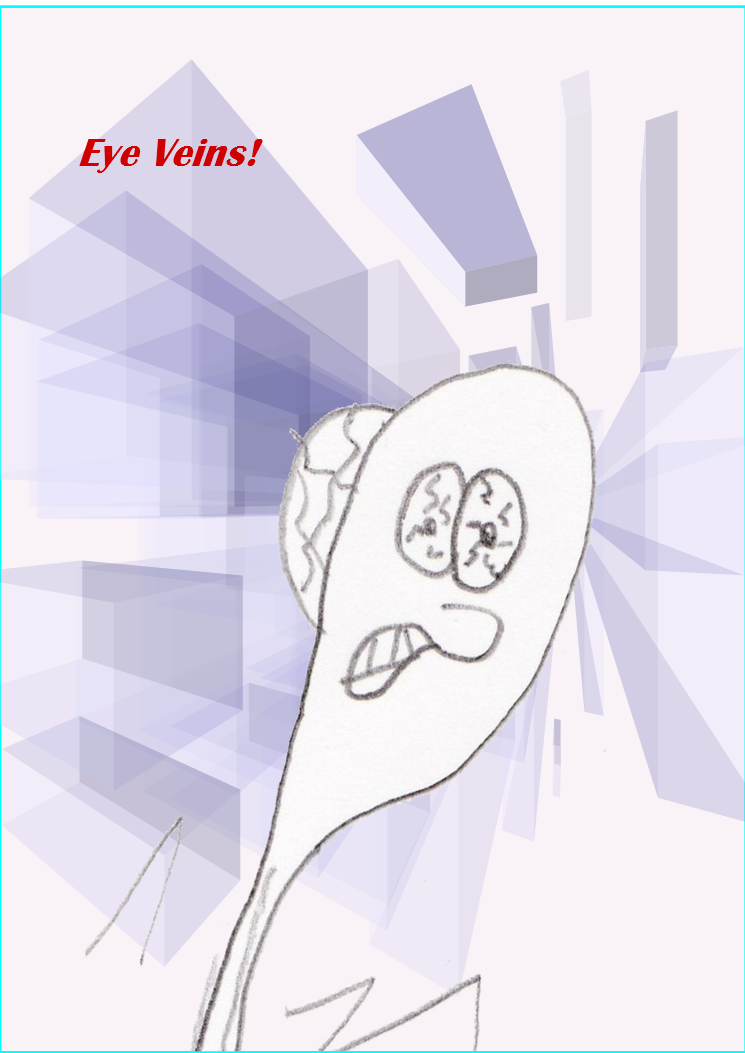 eye veins