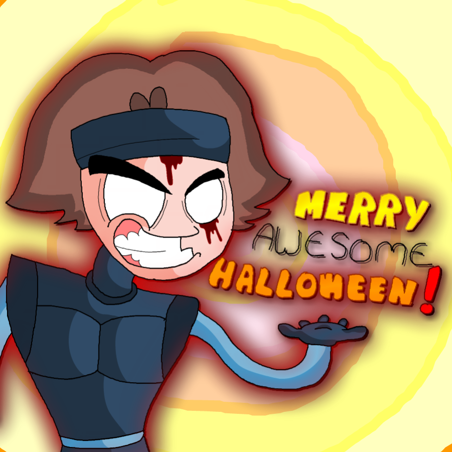 Merry Awesome Halloween