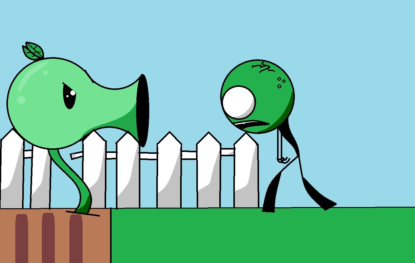 plants vs zombies fan art by nanofreak101 on newgrounds