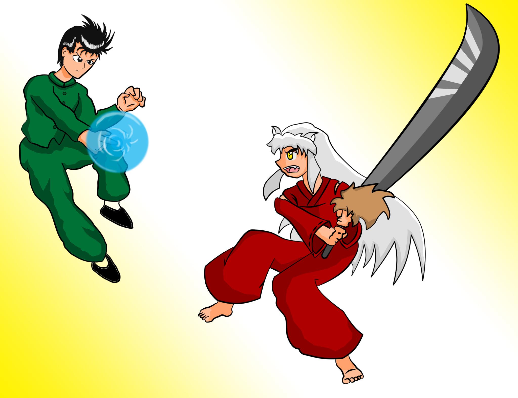 Yusuke vs Inuyasha