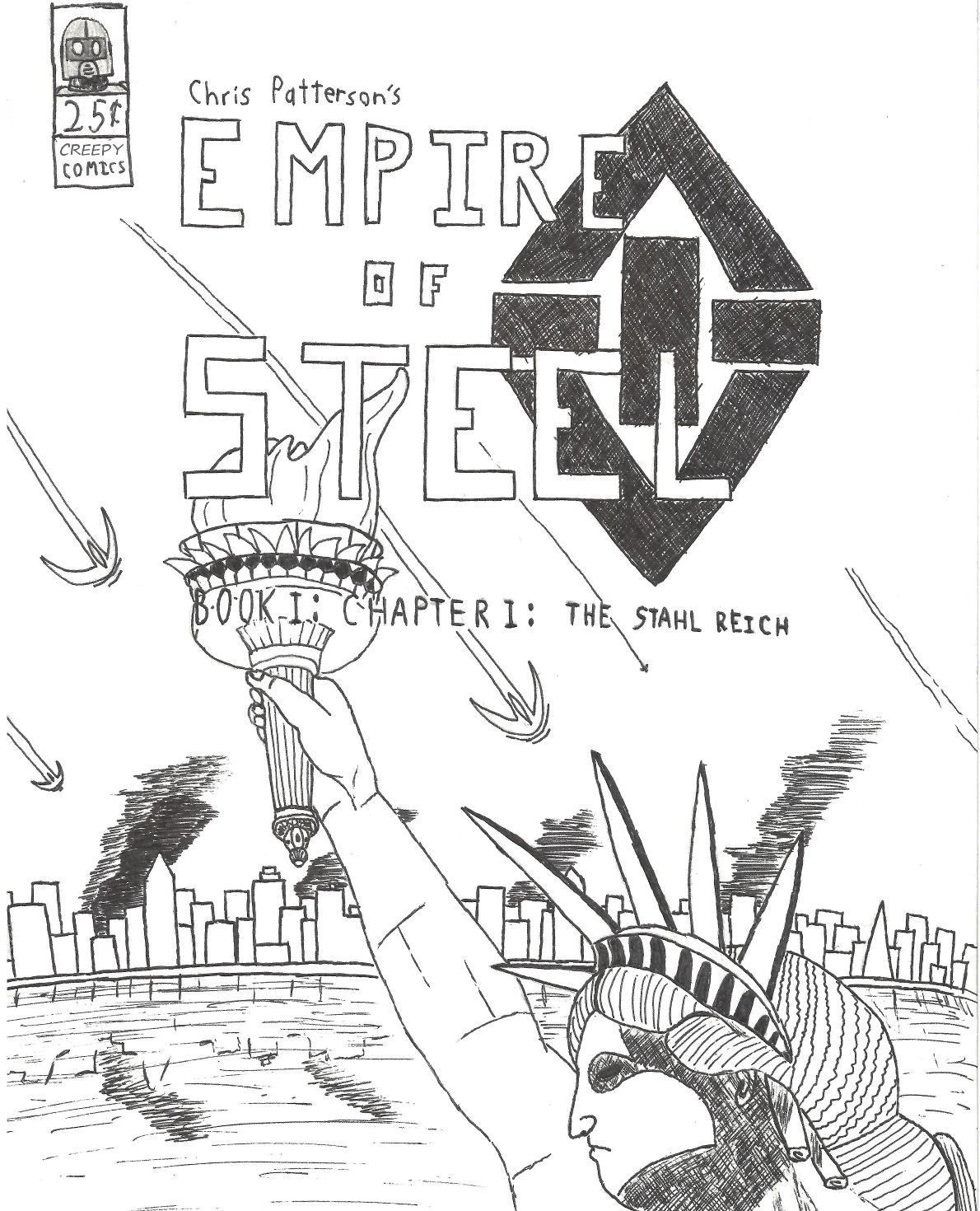 Empire of Steel Cover