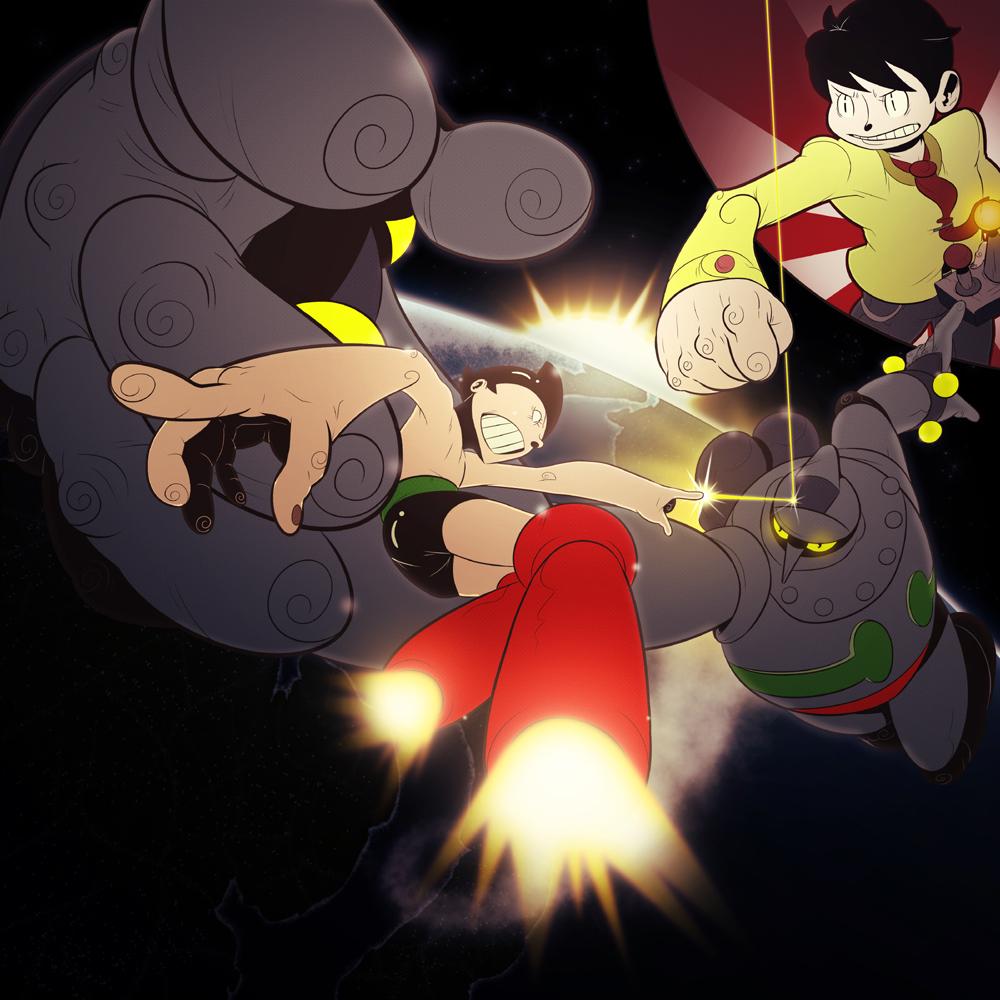 Astro Boy Vs. Gigantor