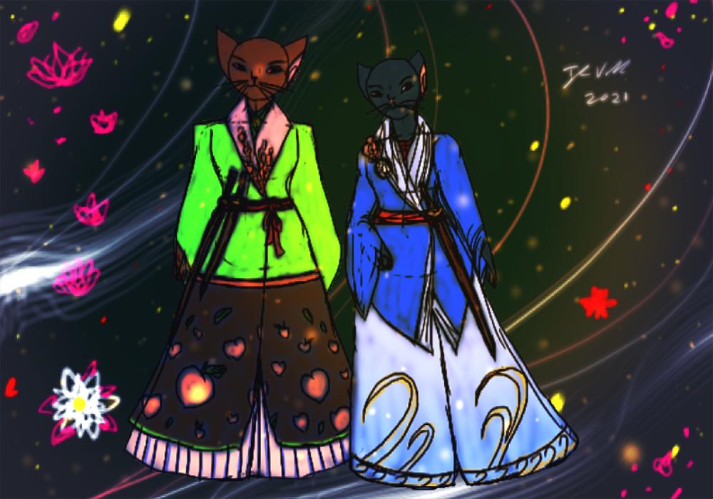 Xhui Bau and Baylyng