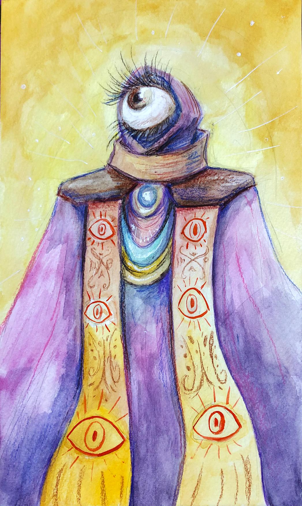 Eyeball Priest