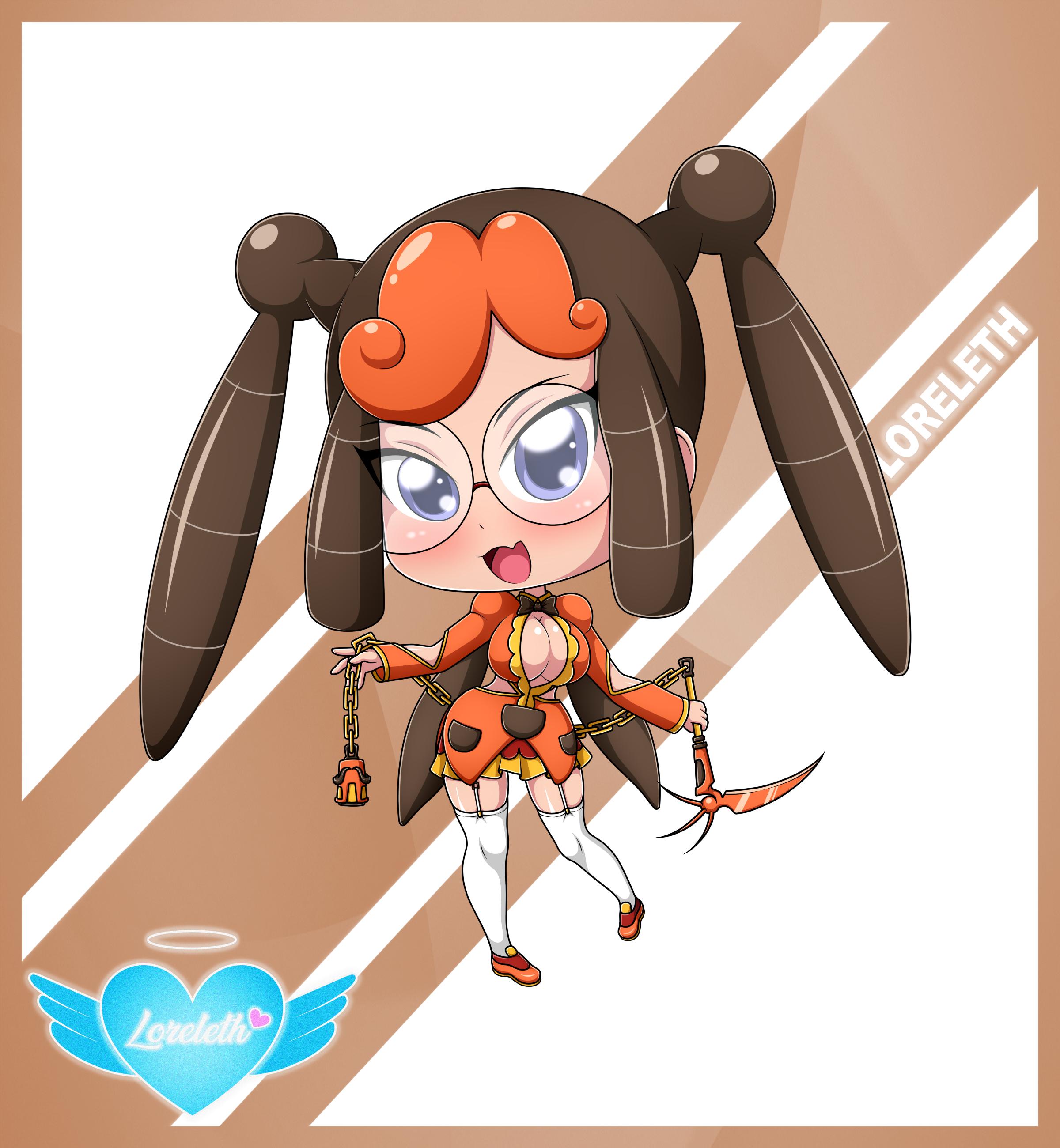Cute Chibi Girl 47 (Commission)