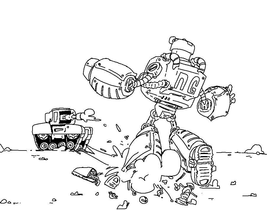 P-Bot gets blammed