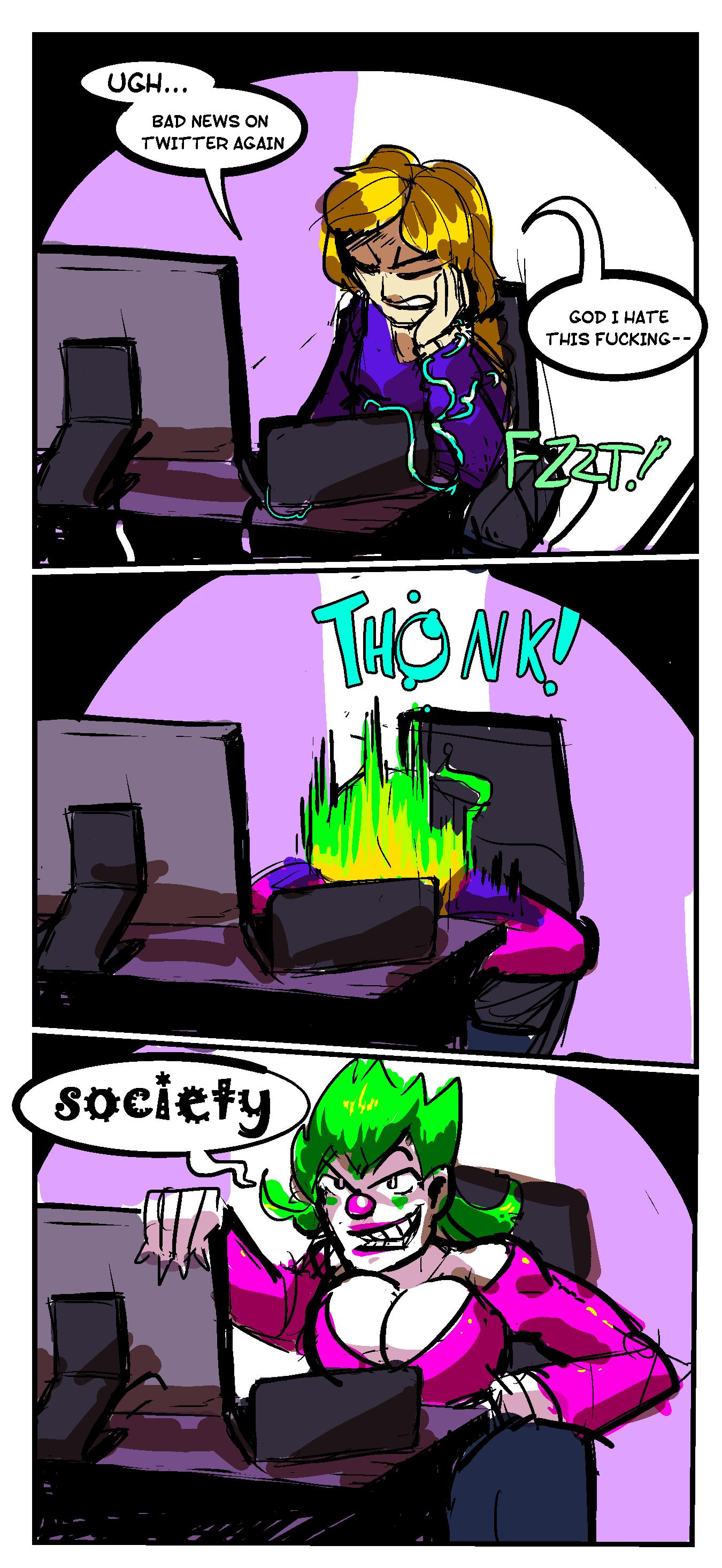 [COMIC] Jokerfication
