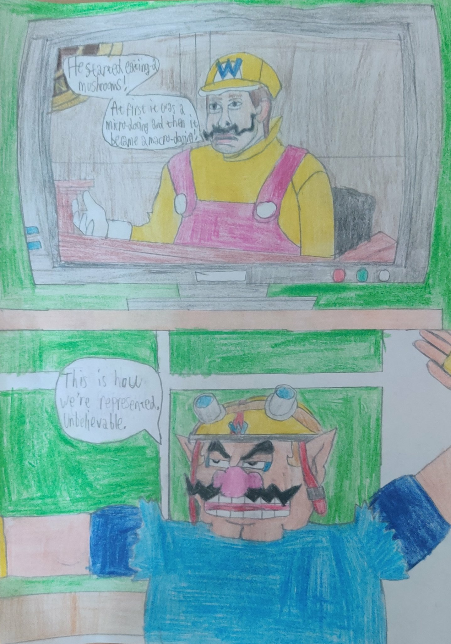 Wario reacts to SNL