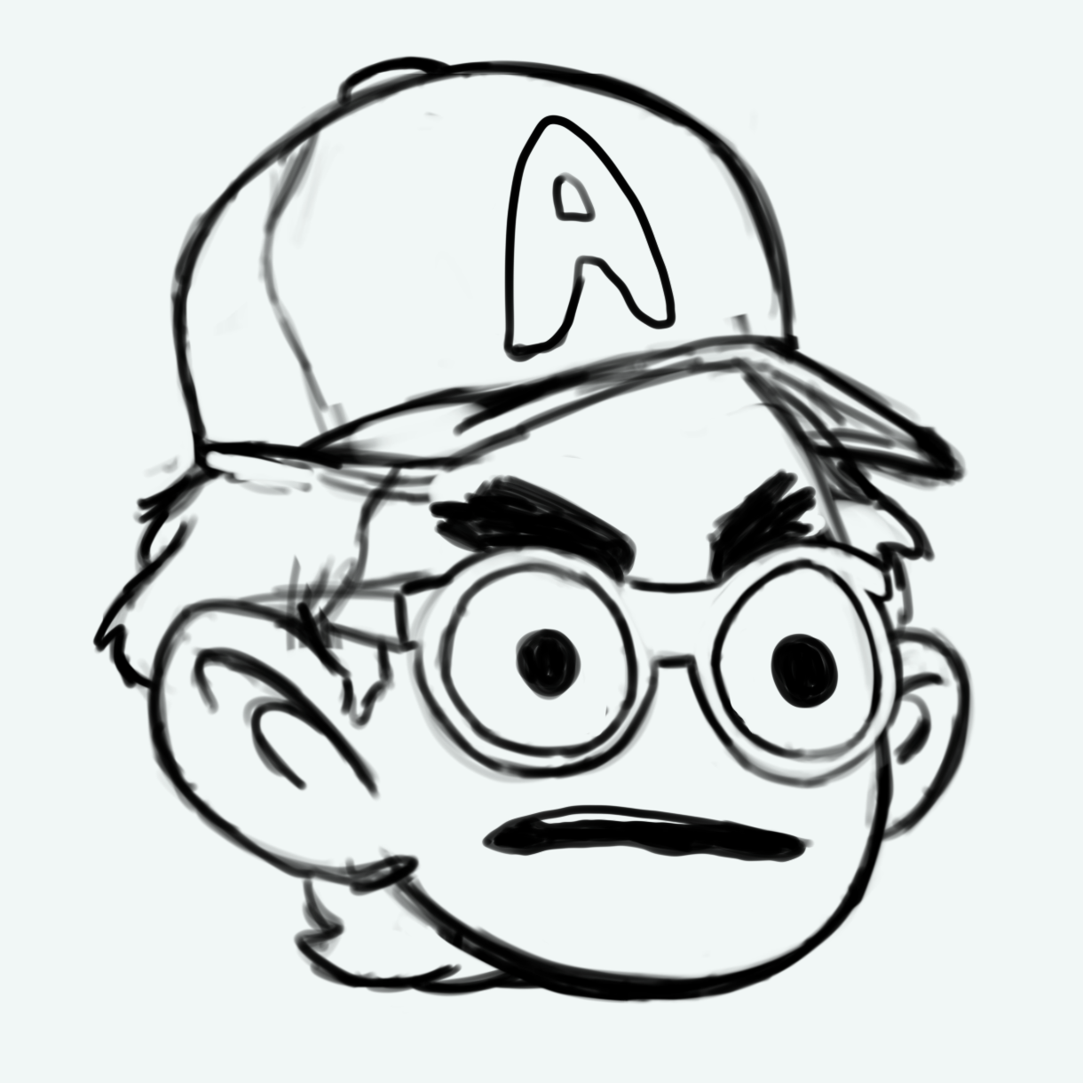 Original portrait of me