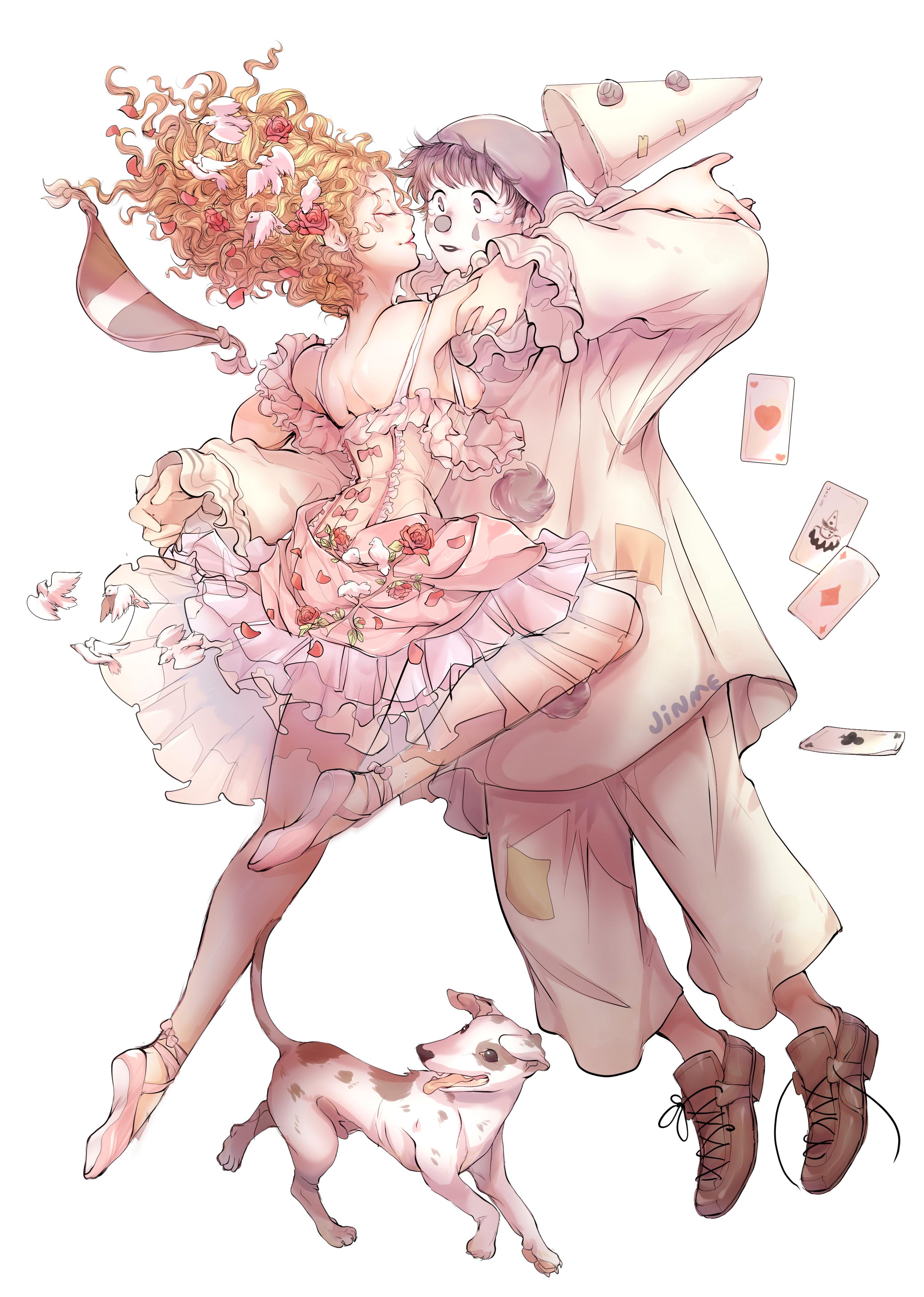 Pierrot & Columbina