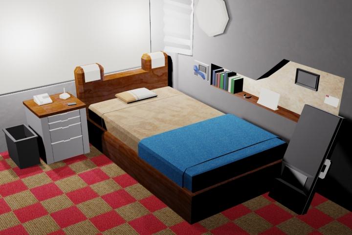 Balamb Garden Dorm Room
