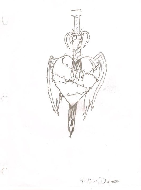 Broken Heart 4/19/10