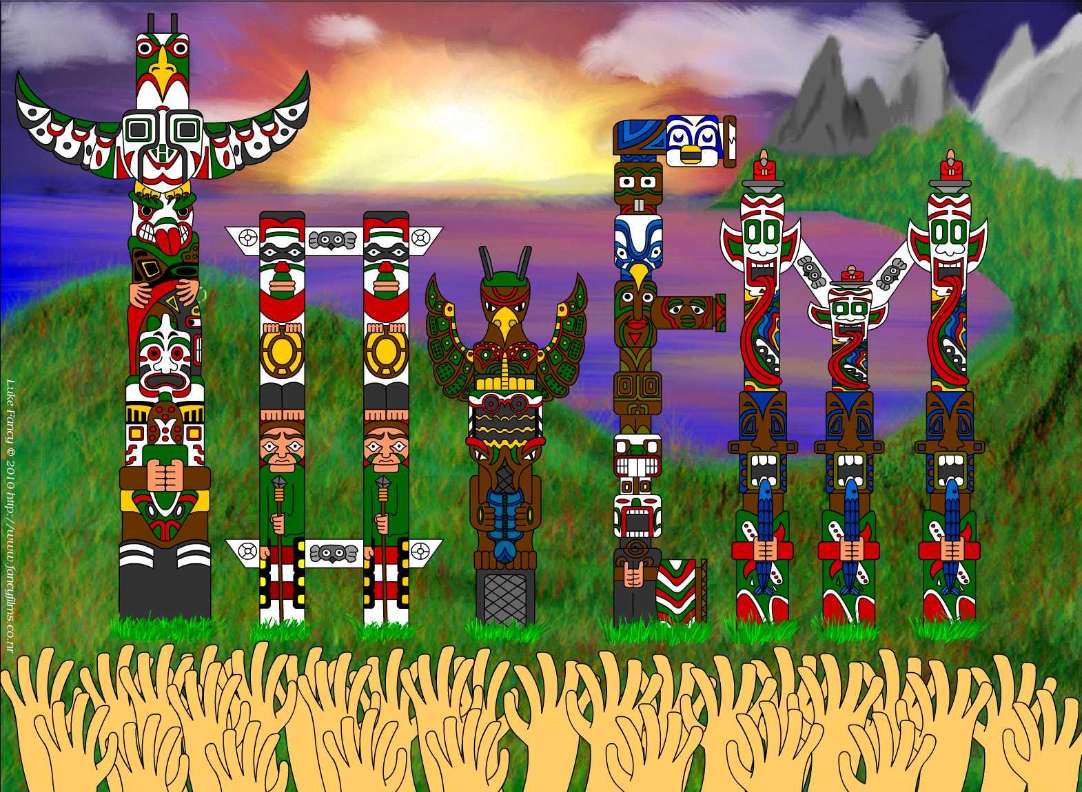 Totem Word Art