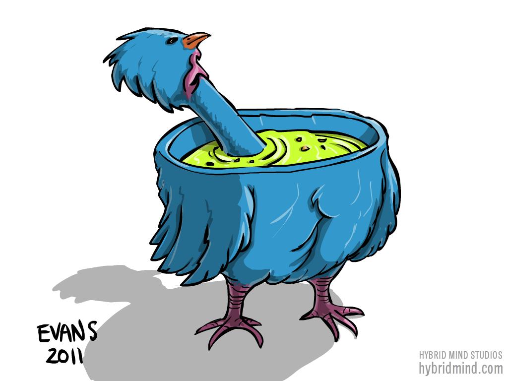 Alien Chicken Soup