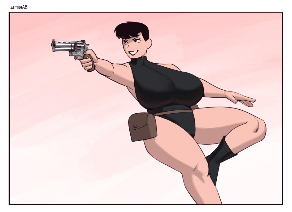 Doodle - Gun Lady