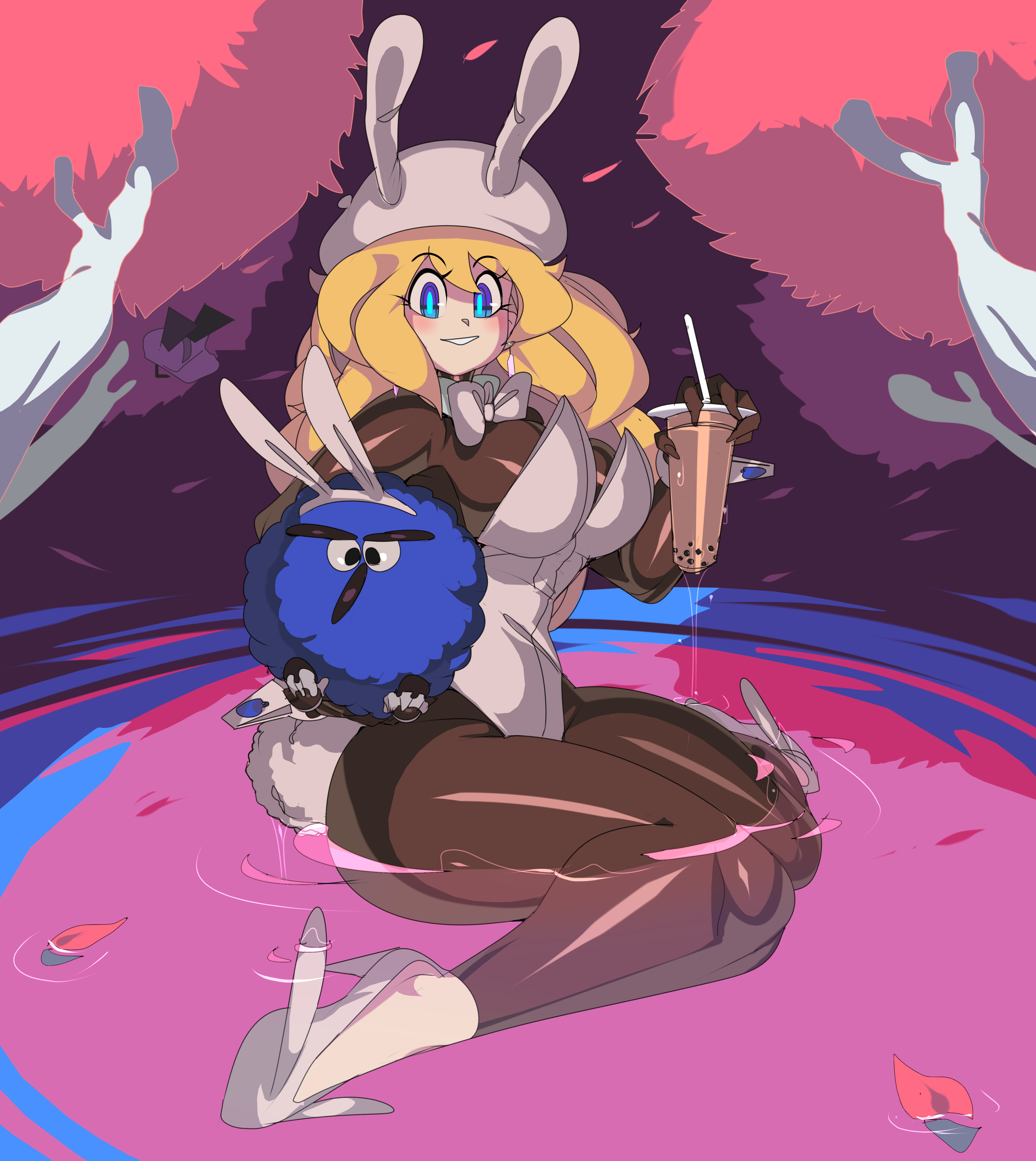 Lily bunny outfit