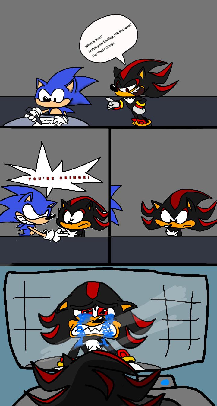 Shadow the Cringehog